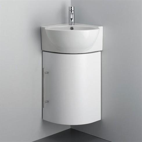Il lavabo ad angolo sanitari e accessori d 39 arredo for Mobile angolare bagno