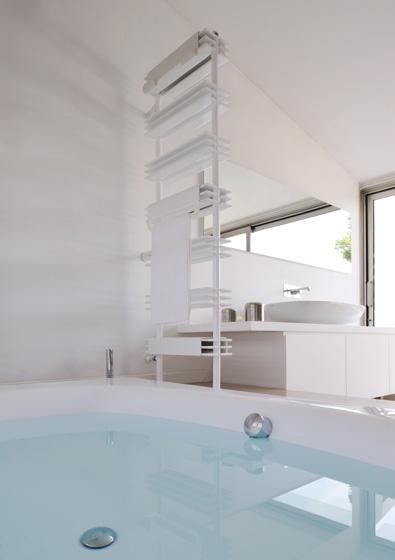 Lo speciale radiatore con ripiani shelf sanitari e for Radiatore bagno