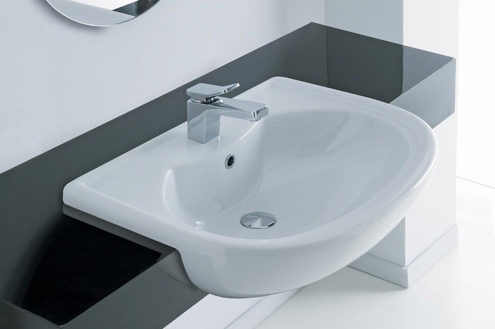 Sanitari e accessori d 39 arredo soluzioni per arredare il - Dimensioni lavandino bagno ...